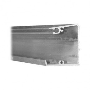 KP15 Aluminium muurprofiel 350 cm incl. rubber