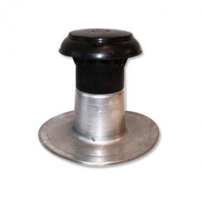 Ontluchting compleet DW Ø 90-100 mm aluminium