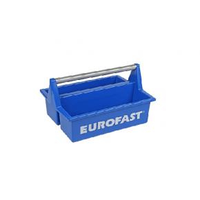 Kunststof toolbox met alu. beugel