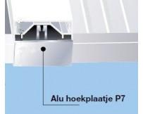 Aluminium hoekplaat P7