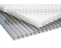 Polycarbonaat kanaalplaat 10mm dik 70cm breed