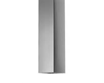 Zinken regenpijp  vierkant 80x80mm, lengte 3mtr
