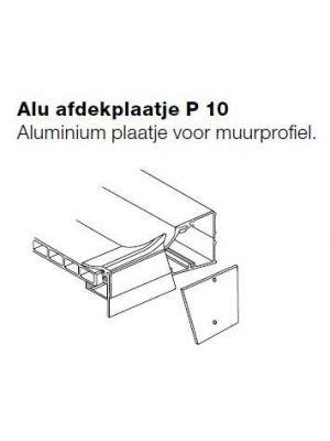 Aluminium afdekplaat P10