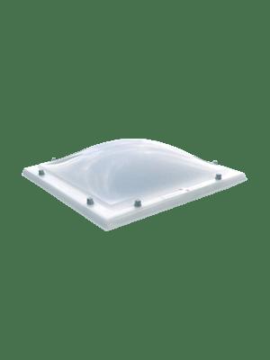 Lichtkoepel polycarbonaat opaal dubbelwandig