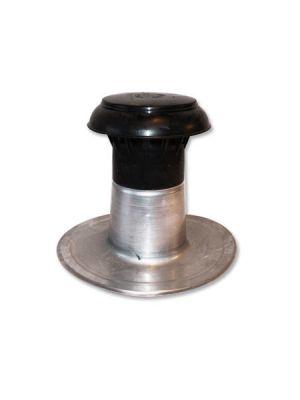 Alu Ontluchting dubbelwandig rond 70-80mm