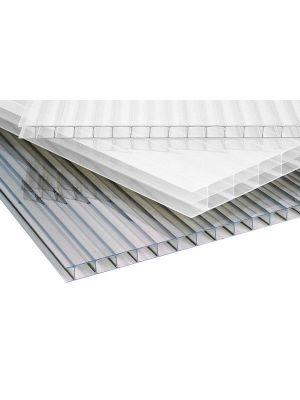 Polycarbonaat kanaalplaat 16mm dik 105cm breed