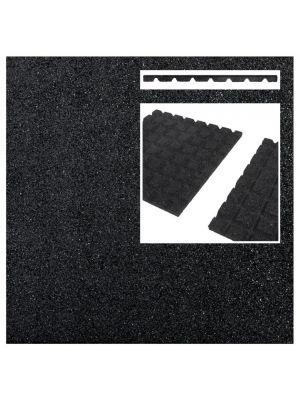 Rebberen terrastegel zwart